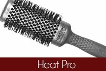 Heat Pro - Olivia Garden / The Olivia Garden Heat Pro hair brushes have copper ceramic technology to help the barrel heat up twice as fast and retain heat longer to provide better styling. Founded in 1968, #OliviaGarden has a long-standing, family history designing and manufacturing high quality #BeautyTools engineered to exceed hairdresser and consumer needs. Find the right brush for your hair at OliviaGarden.com #BeautyTools #HeatPro / by Olivia Garden International