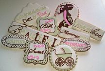 Baby shower cookies / by Katie Robinson
