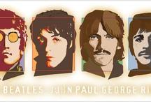 The Beatles & Beatles Art / by Mike Funk