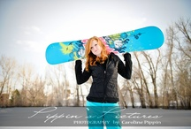 Not your average senior portrait session / by Caroline Pippin