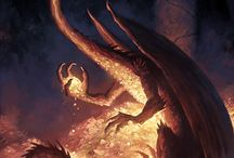 Dragons / by Merc Parausnic