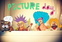 Picture Day / the aliens say the world needs more love.  love, picture day xoxo / by Jamie Pilbeam