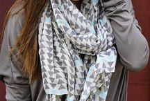 I love scarves!  / by Nicole Kupser