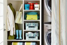 Laundry/mud room / by Amy Noon