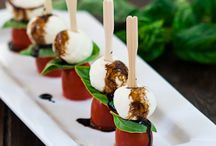 Yummy Party Foods / great ideas for party food / by Martha Hall