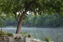 outdoor living / by Lynn Matthews