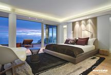 Wake up to paradise / Stunning bedroom views / by adelto - luxury travel, resorts, hotels, lifestyle, interior design & homes