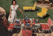 50's patio furniture / by Keith and Juanita Upchurch