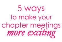 Meeting Ideas / by Stephanie Goldenberg