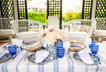 Table Scapes / Table linens, place settings, themes / by Angela Hugueley
