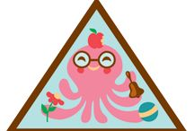 Brownies - Senses / Requirements for the Brownie Senses Badge-- Step 1: Explore your sense of sight. Step 2: Listen to the World. Step 3: Put Your Nose to work. Step 4. Take a taste test. Step 5. Touch and feel. / by Girl Scouts SU24