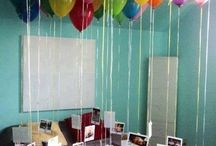 Andy's surprise party / by Brittnie Freed