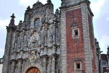 IGLESIAS DE MEXICO, (EX-CONVENTOS TAMBIEN) / joyas de arquitectura, de la mas adornada con canteras labradas  a la mas modesta capillita, por todos los Estados de lo que es Mexico!!! / by Gennytzin De Zapopan