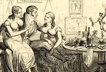 Regency-era Fun Prints / Regency caricaturists loved poking fun. I love seeing them do it. / by Sabrina Jeffries