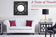 Hollywood Glamour / Our Hollywood Glamour Collection lets you bring the beauty and romance of the golden age of cinema into your home!  / by Kirkland's Home Décor & Gifts