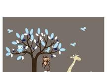 nursery ideas / by Angela Cornelius