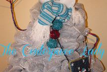 Decomesh wreaths & swags / by Vickie Jameson