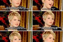 Jennifer Lawrence / by Melanie Foreverdeen #BIMCA #5POP #LOBSTER WEDDING #StayStrongCharlie
