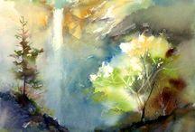 Watercolor-painting-art / by crootilicio.us