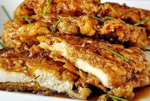 chicken recipes / by Krista Leach Tate