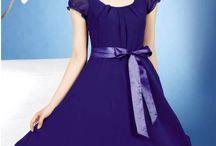 Chiffon Dress / by Stephanie Allen