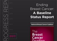 """#BCD2020 Annual Progress Reports / Each year, the National Breast Cancer Coalition publishes a progress report on the state of breast cancer. Beginning in 2011 with """"Ending Breast Cancer: A Baseline Status Report,"""" you can follow our progress toward knowing how to end this disease by the end of the decade. Read this very important report today. / by Breast Cancer Deadline 2020®"""