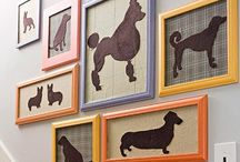 dogs in design / by Savvy Southern Style