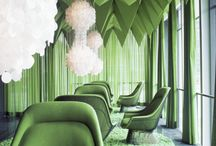 ~ emerald city ~ / color board - green / by DTM Interiors ~designed to move~