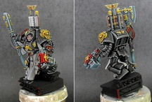Miniature Painting / Inspirational works in miniature painting. Mostly Warhammer 40000 but occassionally something else as well.  None of these is a work of mine. But I am working on it. / by Dat Chu