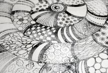 zentangle zaniness! / by Aimee Pfitzner