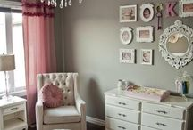 Pep's 'Pigasus' Bedroom / Ideas to makeover Pep's nursery into a toddler bedroom decorated with hues of taupe, pink, coral, and cream. Also, accented with burlap and glitter! / by Nicki Scott