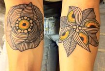 tattoos / by Jasmine Perfect