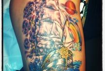 Tattoos / by Sylver DeHart