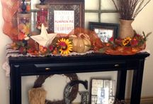 Fall decor / by Jacque Lawless
