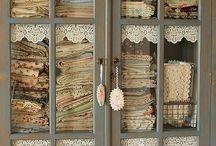 Fabric Storage / by Tara Darr