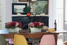 Interiors - Dining Spaces / by Karie Heathcoat-Kieffer