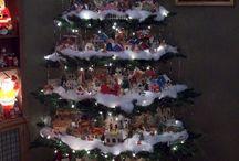 Village christmas trees / 2014 Festival of Trees - Village Tree Theme Ideas / by Debby Blundell Johnson