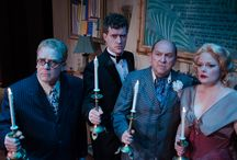 AND THEN THERE WERE NONE / Marooned at a lonely resort, each guest has a dark secret to hide and all fear dark shadows from their wicked past.  Isolated and trapped, one by one they start to die.    / by Peninsula Players Theatre
