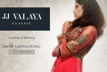 JJ VALAYA | SHOP ONLINE, BUY ONLINE, DESIGNER WEAR / The label JJ Valaya Classic is a journey of discovery and interpretation of timelessness itself. #Ethnic #Indian #New #Fashion #Classic #JJ Valaya / by Exclusively In