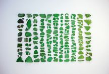 SEA GLASS AND THE SEA / by Peggy Gurley