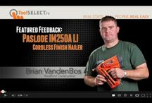 Cordless Nailers & Staplers / by ToolSELECT.com
