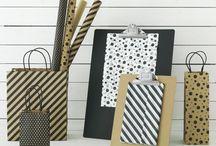 Papirbutik / Få inspiration til gaveindpakning, dekoration, kontorartikler og oppyntning.  / by IKEA DANMARK