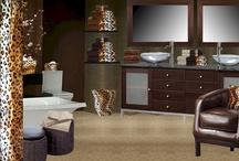 Leopard/Cheetah Bathroom / Exotic Leopard & Cheetah Bathware... / by Anything Animals  Decor N Linens