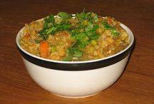 Indian and Thai recipes / by Leesa Rapacz
