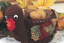 crochet household and decorations / by Brenda Olinger