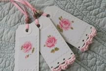 Cards & Tags with Crocheting / by Sharron Moerke