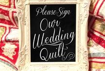 Unique Wedding Guest Register  / by Donna Jones