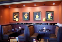 """Restaurant Design / We assist clients to remodel and design new restaurants such as this one we completed... """"Vito's Pizza & Italian Ristorante,"""" in Scottsdale, Arizona.  Are you a restaurant owner looking for interior and exterior design assistance?  Give us a call or contact us from our website.  www.ellisdesigngroupllc.com   #restaurantdesignereugene, #commercialdesignereugene, #commercialinteriordesignereugene, #interiordesignereugene / by Ellis Design Group, LLC"""