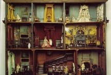 Elegance in Miniature / Dolls, Doll Houses and their Accouterments.  / by Amanda Hertel