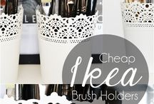 makeup & beauty storage / by Zoe Louise